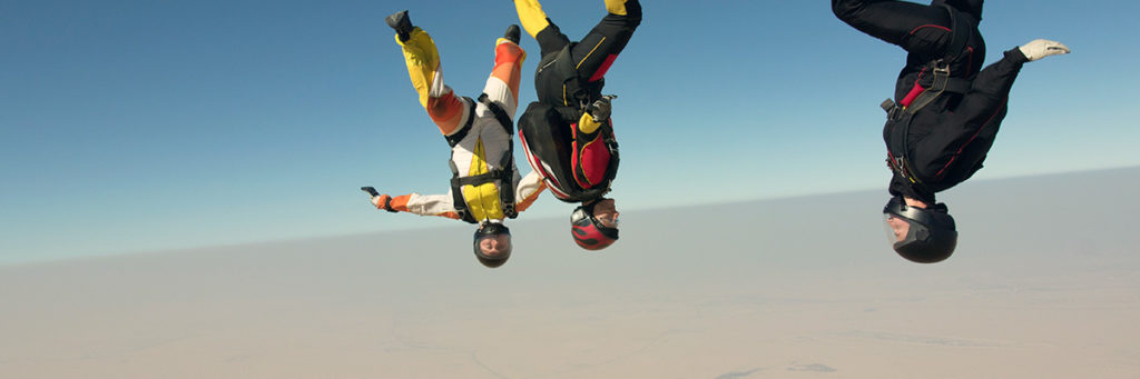 Extreme sports in Dubai