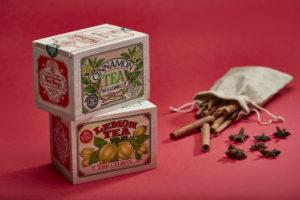 Festive tea box