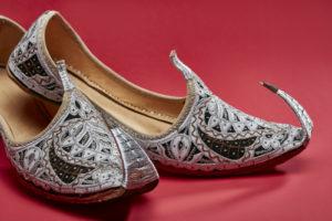 Festive footwear